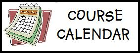 Science By Caslick - SCH3U Calendar